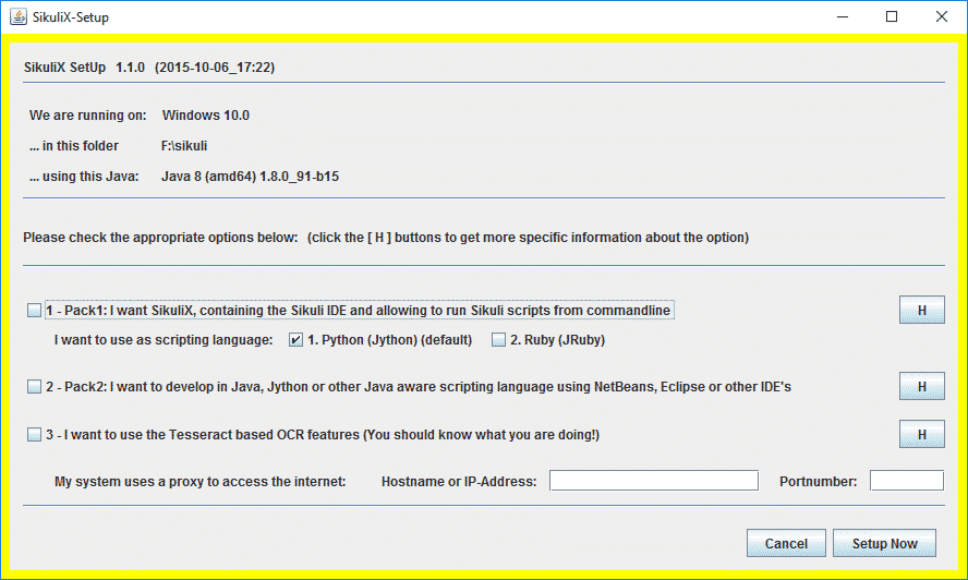 Sikuli | Tutorial | Download | Python GUI Automation Script