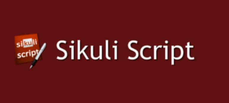 Sikuli SikuliX Tutorial with Code Examples