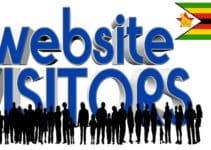 Google.com at #1 in the List of Top 5 Most Popular and Best Websites in Zimbabwe